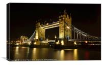 A sparkling architectural icon, Canvas Print