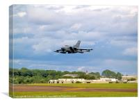 Tornado Fly Pass, Canvas Print