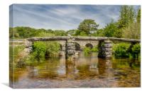 Postbridge Dartmoor National Park, Canvas Print