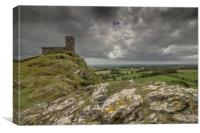 A Stormy Dartmoor, Canvas Print