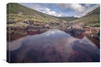 Tavy Cleave Pool, Canvas Print