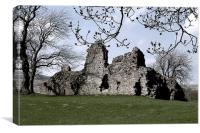 Castle Ruin, Canvas Print