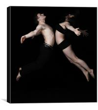 Dance Leap, Canvas Print