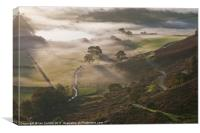 Elan Valley Mist 2011, Canvas Print