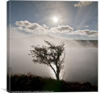 Elan Valley Mist 3, Canvas Print