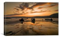 Newquay Sunrise, Canvas Print