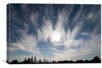 Cirrus Cloud, Canvas Print