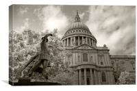 St Paul's Cathedral, Canvas Print