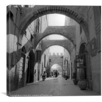Essaouira Souk, Canvas Print
