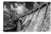 The Craig Goch Dam, Canvas Print