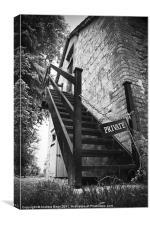 Private Steps, Canvas Print