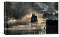 Misty Start, Canvas Print