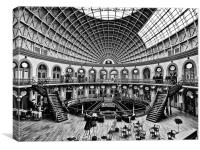 Leeds Corn Exchange, Canvas Print