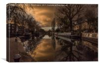 Little Venice, Canvas Print