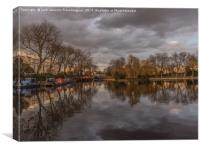 Little Venice Basin , Canvas Print