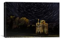 Ryemeads gate house , Canvas Print