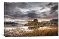 Sunset Eilean Donan Castle, Canvas Print