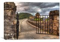 Castle Gates, Canvas Print