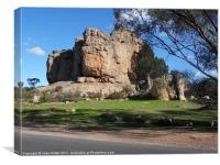 Mount Arapiles National Park, Canvas Print