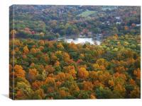 Autumn in Connecticut, Canvas Print