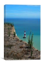 Lighthouse at Beachy Head, Canvas Print