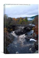 Glenmoriston Bridge, Canvas Print
