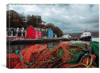 Tobermory Port, Canvas Print