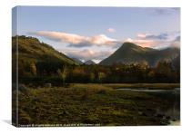 Glen Etive Morning, Canvas Print