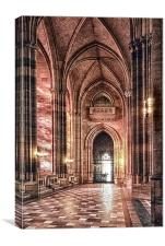 Ecclesiastical, Canvas Print