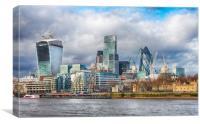 The London skyline cityscape (1), Canvas Print