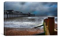 The Pier Southwold, Canvas Print
