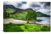 Bow to Buttermere , Canvas Print