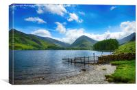 Into Buttermere, Canvas Print