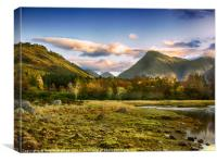 GLEN ETIVE , Canvas Print