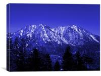 MOUNT ROSE AT DAYBREAK, Canvas Print