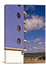 Rooms with a view, Canvas Print