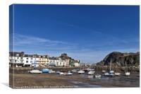 Ilfracombe Harbour, Canvas Print
