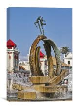 Loule Portugal, Canvas Print