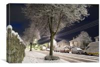 Snow Trees, Canvas Print