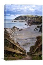 Sandy Cove, Canvas Print