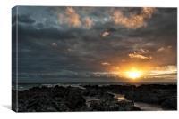 Croyde Bay, Canvas Print