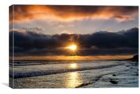 Airy Point Sunset, Canvas Print