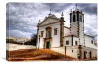Estoi Church Portugal, Canvas Print