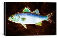 Sea Bass Phone Case, Canvas Print