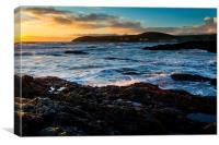 Croyde Bay Sunset, Canvas Print