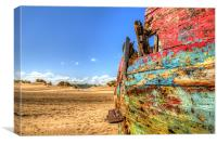 Old Wreck, Canvas Print