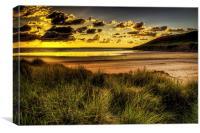 Saunton Sands North Devon, Canvas Print