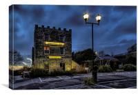 Riverside Inn, Canvas Print