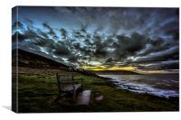 Croyde Bay daybreak., Canvas Print