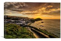 Capstone Point Ilfracombe, Canvas Print